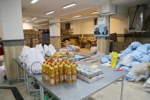 اهدای ۱۵۰۰۰ سبد موادغذایی توسط دفتر مرحوم آیت الله العظمی فاضل لنکرانی در ماه مبارک رمضان