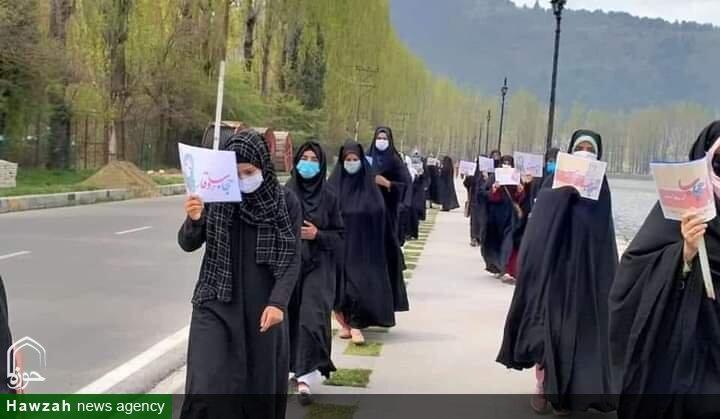 ویڈیو/ فیشن شو کے خلاف کشمیری خواتین کا احتجاج