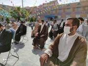 تصاویر/ عمامه گذاری طلاب پاکدشت با حضور آیت الله اعرافی