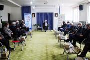 تصاویر/ نشست ستاد ساماندهی شئون فرهنگی خراسان شمالی