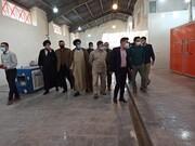 طلاب جهادی کارخانه بستهبندی میوه خشک سیسخت را احیا کردند + تصاویر