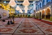 (۱۰۰۰) سجّادةٍ تكسو صحن أبي الفضل العبّاس (عليه السلام) + الصور