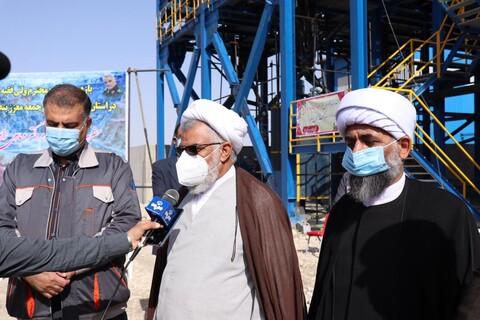 تصاویر/بازدید نماینده ولی فقیه در استان هرمزگان از معدن تنگ زاغ حاجی آباد