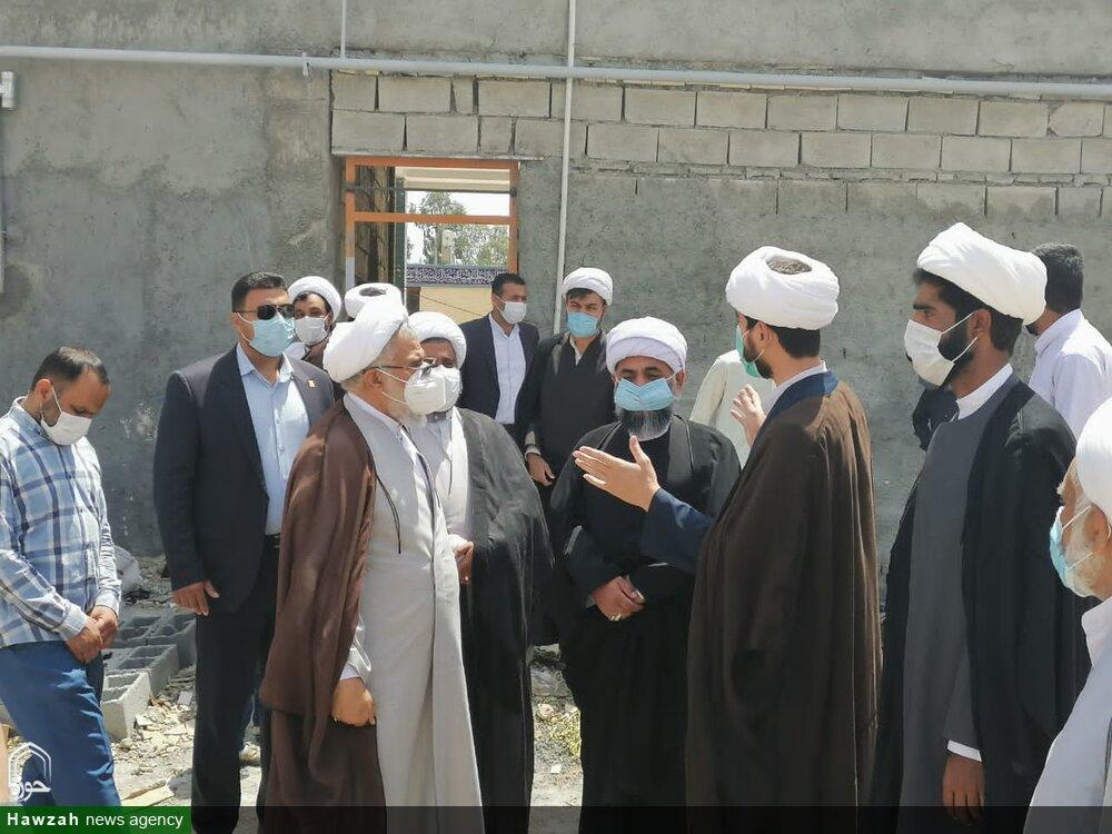 تصاویر/ بازدید نماینده ولی فقیه در استان هرمزگان از مدرسه علمیه امام صادق (ع) حاجی آباد