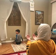 خانواده مسلمان کانادایی که در خانهاش مسجد کوچکی ساخته
