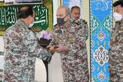 مراسم تکریم و معارفه ارشد نظامی ارتش در استان قم