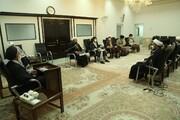 دیدار اعضای جبهه مردمی عفاف و حجاب با نماینده ولیفقیه در استان قم