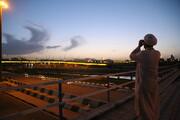 تصاویر / استهلال ماه مبارک رمضان در قم