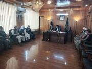 سکردو میں ڈپٹی کمشنر سے مختلف مکاتب فکر کے علماء کی نشست،پاکستان کے حکمراں خدا کا حکم و قرآنی فرامین کے نفاز کے لئے اقدام کریں