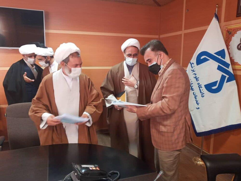 تصاویر/ جلسه هماهنگی حضور طلاب جهادی در بیمارستانهای قم