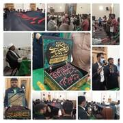 روضہ معصومہ قم (س) میں دو روزہ محافل و مجالس بسلسلہ استقبال ماہ رمضان المبارک کا انعقاد و حرم حضرت امام حسین (ع) کے پرچم کی زیارت