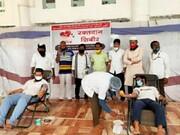 مسجد مهاراشترا به اردوگاه اهدای خون تبدیل شد