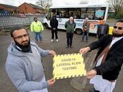 موفقیت طرح آزمایشی تست سریع کرونا در مساجد بریتانیا