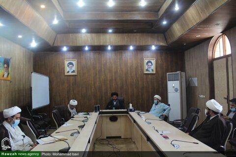 بالصور/ اجتماع مديري المدارس العليمة في محافظة خوزستان افتراضيا