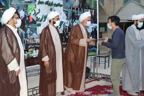 بالصور/ اجتماع مبلغي مقر عمار التابع لمدرسة المنصورية العلمية في شيراز