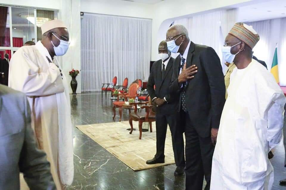 دیدار رییس جمهور مالی  با نمایندگان و رهبران ادیان در پایتخت + تصاویر
