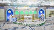 بالصور/ المحفل القرآني الرمضاني داخل مرقدي اميرالمؤمنین (ع) و الامام الحسين (ع)