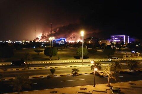 حمله یمن به شرکت ارامکو