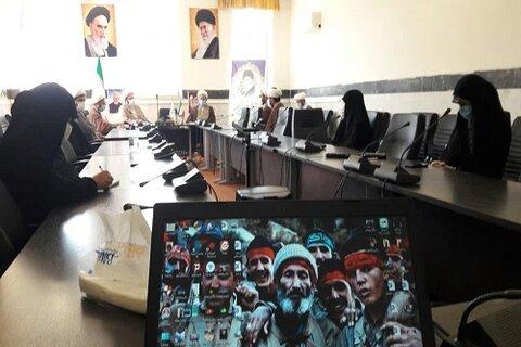 حجت الاسلام صادق ایرانی در جمع مبلغان و مبلغات مدارس امین شهر کرمانشاه