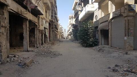 خدمت رسانی گروه جهادی قزوین به مردم آواره سوریه