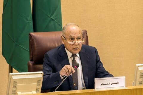 """احمد ابوالغیط"" دبیرکل اتحادیه عرب"