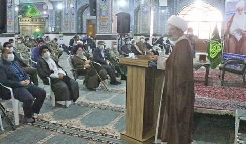 تصاویر/ آئین تکریم و معارفه امام جمعه جدید شهرستان شوشتر
