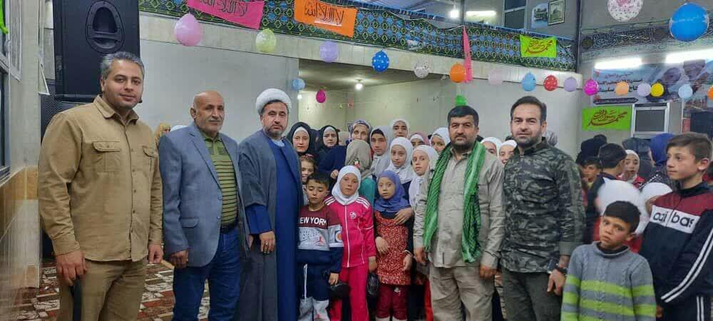تصاویر/ فعالیتهای جهادی بنیاد بین المللی اربعین حسینی استان قزوین در سوریه