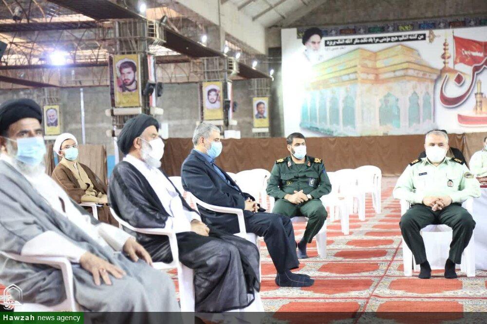 تصاویر/ نخستین نشست قرارگاه فرهنگی دفتر نماینده ولیفقیه در خوزستان در سال ۱۴۰۰