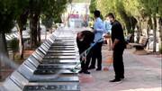 فیلم | غبارروبی مزار شهدا توسط طلاب مدرسه علمیه امام خامنه ای ارومیه