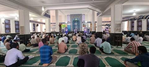 تصاویر/اقامه اولین نماز جمعه تاریخ جزیره بوموسی