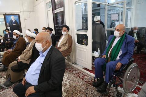 تصاویر/ مراسم بزرگداشت حاج علی فاضل برادر مرحوم آیت الله العظمی فاضل لنکرانی