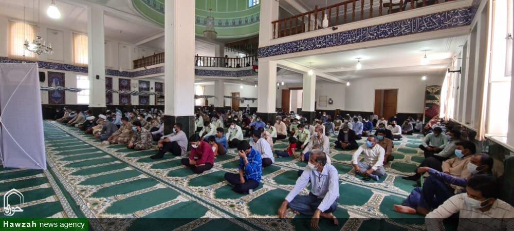 تصاویر/ اقامه اولین نماز جمعه جزیره بوموسی