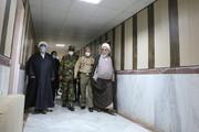 تصاویر / حضور امام جمعه قزوین در لشگر ۱۶ زرهی استان به مناسبت روز ارتش