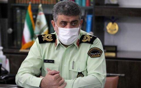 سردار عزیزاله ملکی، فرمانده انتظامی استان گیلان