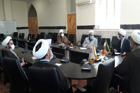 جلسه اعضای شورا قرآنی حوزه علمیه استان کرمانشاه