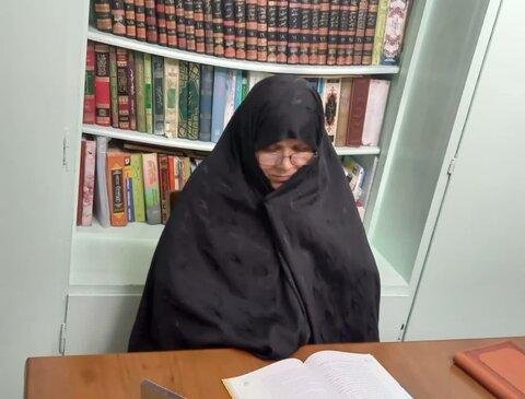 خانم ناهید شمس، مدیر مدرسه علمیه حضرت زهرا(سلام الله علیها)