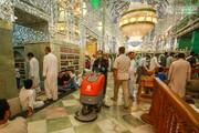 بالصور/ أجواء شهر رمضان المبارك في مرقد اميرالمؤمنين (عليه السلام)