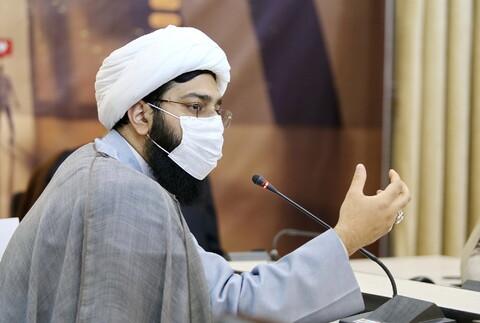 تصاویر/ نشست خبری معاونت هنر و رسانه دفتر تبلیغات اسلامی حوزه علمیه