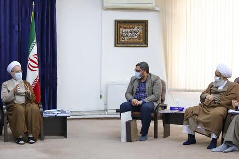 تصاویر/ دیدار اعضای شورای سیاستگذاری یکصدمین سالگشت احیا حوزه علمیه قم