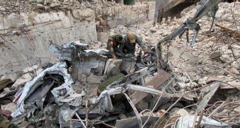 کشف کارگاه ساخت خودرو های انتحاری داعش در موصل