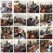 مدیر دفتر قائد ملت پاکستان شعبہ قم کا مجلس عاملہ مقیم قم المقدس کے گھروں کا دورہ و ملاقات