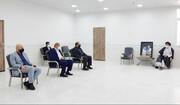 دیدار مدیرعامل شرکت فولاد با نماینده ولیفقیه در خوزستان + عکس