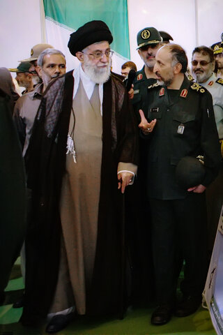 تصاویری از سردار محمدحجازی در کنار رهبر معظم انقلاب