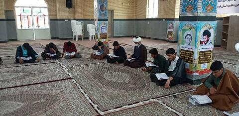 تصاویر / ترتیل خوانی قرآن کریم مدرسه علمیه حضرت ابوالفضل (ع) بندرعباس
