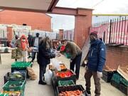 غذارسانی گروه خیریه اسلامی به خانوارهای نیازمند منچستر بزرگ