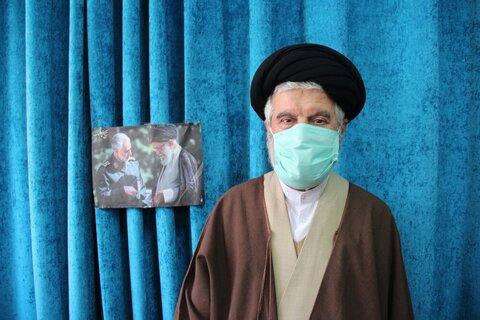 حجت الاسلام فاطمیان قزوین