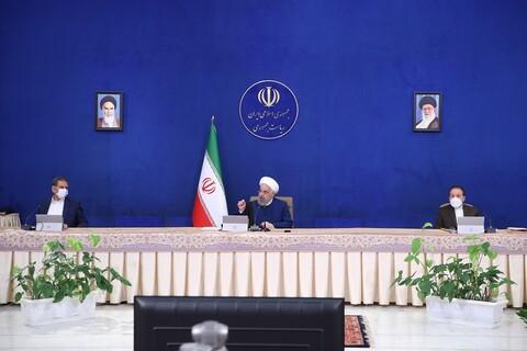 تصاویر/ جلسه هیات دولت با حضور رئیس جمهور