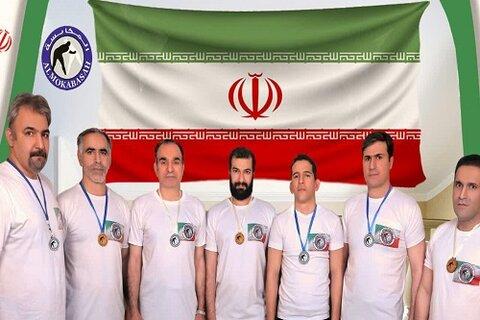 وحید احمدی طلبه کرمانشاهی در جمع تیم « مکابسه ایران » و کسب قهرمانی جهان