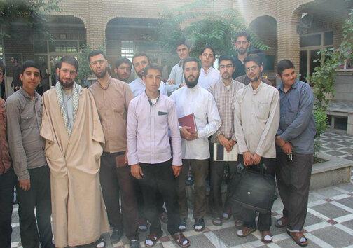 طلاب حوزه علمیه قزوین