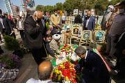 تصاویر/ مراسم بزرگداشت شهید سردار حجازی در گلستان شهدای اصفهان
